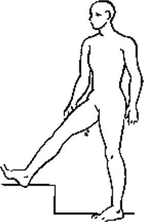 При растяжке болит под коленом